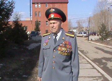 Ветеран войны и невьянской милиции