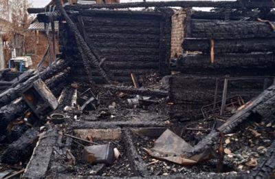 Пожар в Невьянке